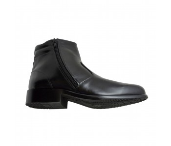 Men Ankle Zipped Boot